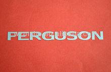 antique embossed metal logo metal brand logo