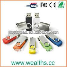 Promotional Custom Swivel USB with free Sample