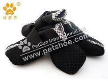 2013 JML indoor Dog Boots,Pet accessories, X201,Black color