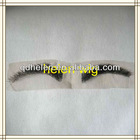 real human hair lace black false eyebrows accpet paypal