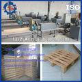 Caliente la venta de la plataforma de madera de registro que hace la máquina/plataforma de madera de registro de la prensa de la máquina