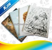 2014 A4 Spiral Paper Notebook