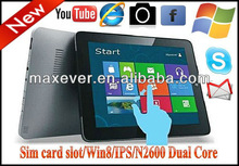 Windows xp cheapest tablet pc andriod 4.0 9.7''' capactive touch screen 2GB DDR 32GB 3G option dual core tablet pc