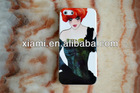 Complicated Printed Rubber Silicone cases holders covers for mobile cell phone Cartoon