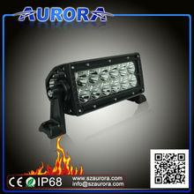 atv atv parts,6'' dual row led light for SUV UTV ATV,offroad, trucks, snowmobile,jeeps