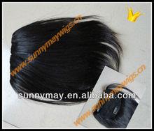 Brazilian virgin human hair bang sunnymay hair beautiful bangs/fringes with clips