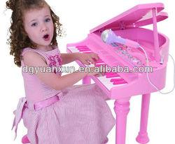 Cute Cartoon kids Wooden 18 keyboard musical instrument