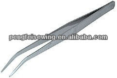 HIGH QUALITY No. 56004 SHARP POINT TWEEZERS(CURVED)