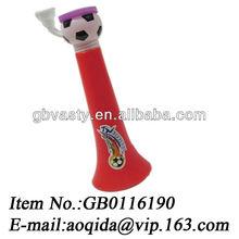 plastic horn plastic vuvuzela cheerleading wholesale
