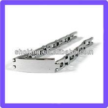 Silvery Plated Metal Bracelet Mens Heavy Metal Bracelets