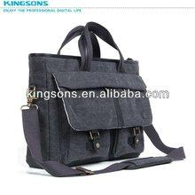 Latest Fashion Design 160Z Canvas Briefcase Laptop Bag