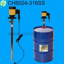 205L-220L 0.88KW 110L/min Viton seal 304 Stainless steel pipe 220V electric barrel pump chemical/220V electric chemical pump