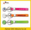 silicone bracelet Customized silicone keyring