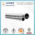 de pared delgada tubo de acero inoxidable tubo