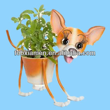 Unique Dog Planter Bobble Head Home Garden
