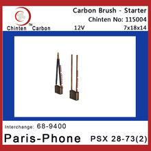 Paris-Phone PSX 28-73(2) carbon brushes for electric motors(WAI 68-9400)