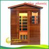 infrared sauna room Infrarotkabine room for outdoor