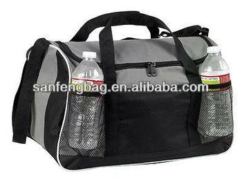 sports travel bag with bottle holder