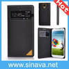 High Quality Flip Book Style PU Leather Case for Samsung Galaxy S4 I9500