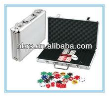 300pcs poker sets in aluminium case