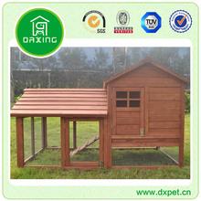Supreme 2 Storey Wooden Rabbit Guinea Pig Chicken Coop House Cage Hutch Run Pen DXR025