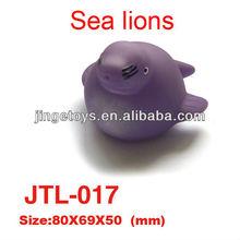Vinyl Exophthalmos Flat Fish Toy For Kids