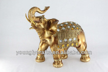 new year elephant statues for home and office decoration