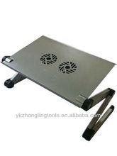 Aluminium desk laptop table