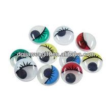 Free sample Plastic Eyes with eyelash