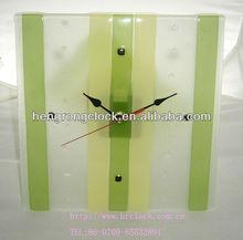 Simple Hot-melt Glass Wall Clock