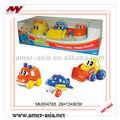 Un gioco della serie di cartoni animati giocattoli, giocattoli auto e aereo e trattore, giocattoli del fumetto