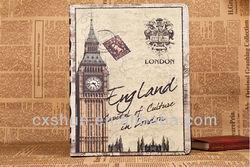 Retro British style for Ipad Case