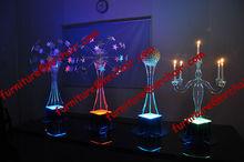 shanghai event rental wedding acrylic LED lighted table decorative centerpiece(star globe)
