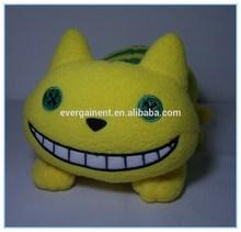 Yellow & Green Eyes Cat Plush Soft Toys