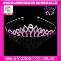 noble de moda tiara de cristal para las niñas