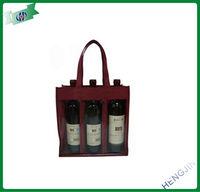fancy wine bottle gift bags (China)