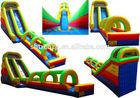 inflatable adults and kids water slide,dry slide,slide castle