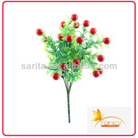 new design fruit and vegetable christmas decoration red