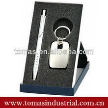High quality zinc alloy promotional novelty boxed ball pen gift set