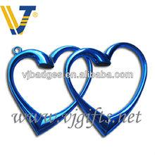 Folding Heart Shaped Hand Bag / Purse Folding Hook Hanger