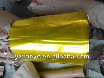 PVC transparent colour plastic roll film for manufacturer