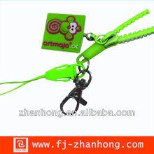 custom zipper lanyard