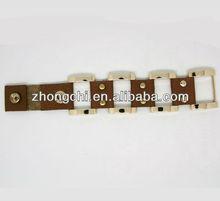 Brown Genuine Leather wristband(BG3073)