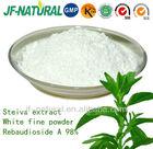100% Stevia extract Rebaudioside A 98%