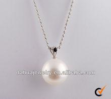 2012 Fashion Pearl jewellery insert CZ stones