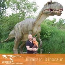 Beautiful Shot Park Attraction Dinosuar Robot Statue