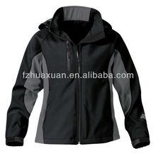Outdoor hiking jacket waterproof and breathable men black
