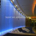 decorativa colorida de plástico de fibra óptica de iluminação moderna cortina de led de iluminação de natal cortina de cachoeira luzes