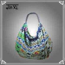 New arrivals woman canvas flower handbags on sale
