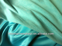 100% polyester weft suede fabric for outdoor furniture cover/sofa fabric